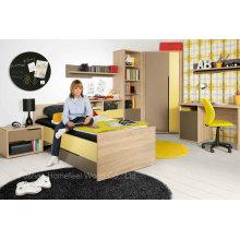 Preço de fábrica infantil conjunto de móveis de quarto para crianças (HF-EY08114)