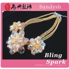 сексуальные женщины висит шарик диаманта одежда свадебные авеню ювелирные изделия кристалл аксессуары