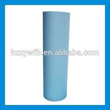Traverser croisé / parallèle Spunlace non-tissé pour des lingettes humides