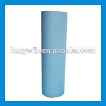 Cross Lapping/Parallel Spunlace Nonwoven For Wet Wipes