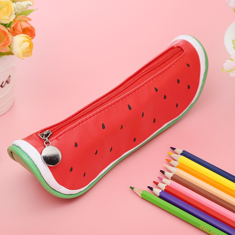 Watermelon Pu Pencil Case 2