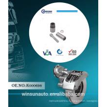 Кнорр суппорта короткий штырь ремкомплект K000698 для тележки запасные части,ремкомплект тормозного
