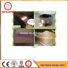 Cable de soldadura de revestimiento de cobre MIG / MAG ER70S6 / ER7-s4