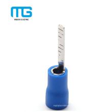 Fábrica azul aislado de cobre eléctrico Blade conectores terminales