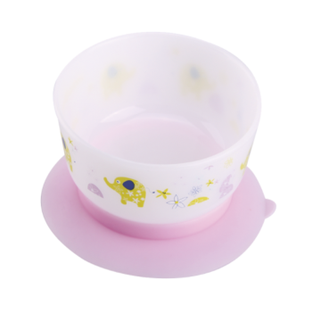 A0203 Mangkuk Makan Bayi Suction Training Bowl BPA Gratis
