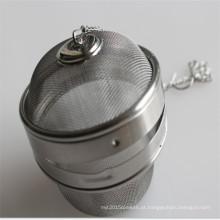 A bola a mais barata do infuser do chá do aço inoxidável usada para o filtro de café