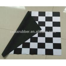 fashion table mat, fancy modern rubber mat