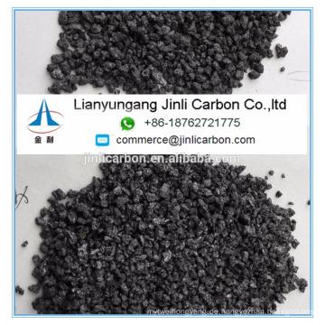 China hohe Qualität niedrigen Schwefel Petrolkoks künstlichen Graphit 1-5mm 0,5-5 mm 2-5 mm 3-8 mm