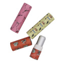 Colorful paper lipstick tube lip balm packaging