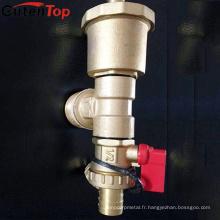 Soupape de sûreté d'évent de radiateur à vapeur de Gutentop en laiton