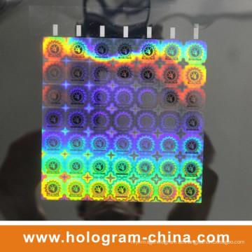 2D DOT Matrix Laser 3D Hologramm Master