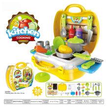 Brinquedo plástico do Playhouse do boutique para o cozimento da cozinha