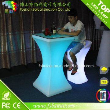 Modern LED Table LED Bar Table / Acrylic LED Cocktail Table / LED Furniture