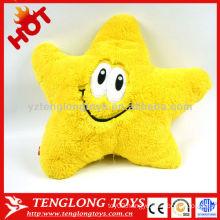 Newest design multifunction star shape soft musical pillow
