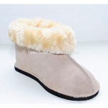 Calçados quentes do inverno quente da mulher da bota da forma sapatas dos amantes