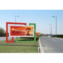 Caixa de luz de exibição de publicidade ao ar livre