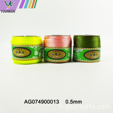 Arc-en-ciel Jade Line Wire String