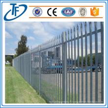 Clôture de palisade de sécurité de haute qualité