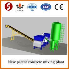 Hot!!!! 20-25m3/h mobile concrete batching plant on sale