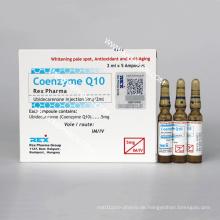 Coenzym Q10 Injektion für Anti-Aging und Whitening