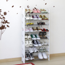 White Shoe Cabinet with Metal and Plastic (FH-SR0068W)