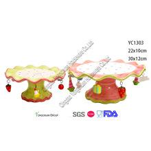Keramik Kuchen Tablett für Weihnachten Dekorativ