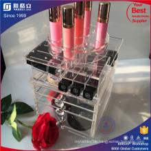 China Hersteller Custom Lipstick Halter mit Schubladen