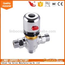 LB-Gutentop 1/2 * 3/4 pouces de haute qualité laiton tuyauterie thermostatique Linbo vanne de mélange contrôler la température de l'eau en laiton mitigeur thermostatique, vanne de contrôle de la température