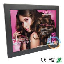 Cadre mince mince 12 pouces HD et cadre photo numérique en option WiFi, cadre photo numérique LCD
