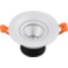 Lampes à économie d'énergie 3W 5W COB led downlight led spot lighting