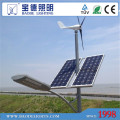 6mpole 30W LED 300W turbina vento Solar LED luz