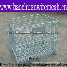 Contenedor resistente del acoplamiento de alambre con precio competitivo en almacén (fabricante)