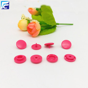Plastic snap button snap fastener for clothes