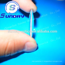 conduit verre optique bi convexe, double lentille convexe fabricants en Chine