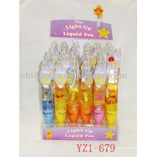 light up pen, light up liquid pen