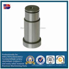Produits usinés par commande numérique par ordinateur de précision de fabricant de contrat d'usinage de l'acier C45