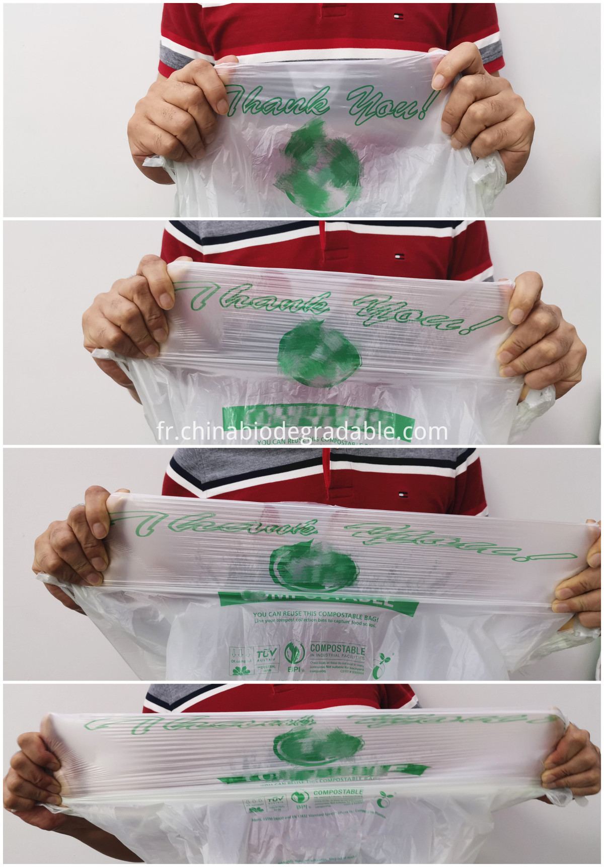 PLA Biodegradable Eco-Friendly Bioplastic Bags
