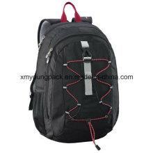 Moda negro 30 litros versátil mochila bolsa de viaje