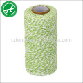 Corde de ficelle de coton coloré pour corde en coton