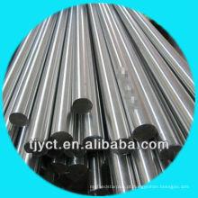 Barra redonda contínua de aço inoxidável principal AISI 410 da prima H11 / H9 da venda direta da fábrica, superfície lisa / revestimento brilhante