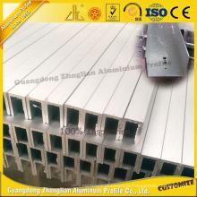 Excelente canaleta de alumínio U para as peças de alumínio do quadro de alumínio