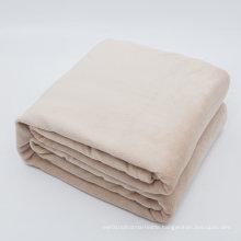 100% Plush Microfiber Soft Brush Fabric, Super Warm, Lightweight & Easy Care Fleece Blanket
