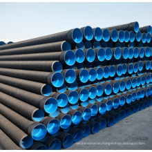 8  inch hdpe double wall corrugated drainage pipe