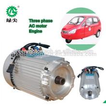 низкая скорость 5kw Электрический автомобиль безщеточный зацепленный мотор эпицентра деятельности