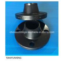 Carbon Steel A105 Forged Flange with Black Painting