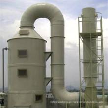 Gás ácido da torre da purificação de FRP, tratamento do gás waste de gás orgânico
