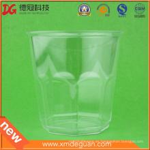220ml Desechable Transparente PS Airline Plastic Cup