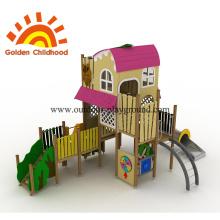 Pink Playground Equipement Playhouse en venta
