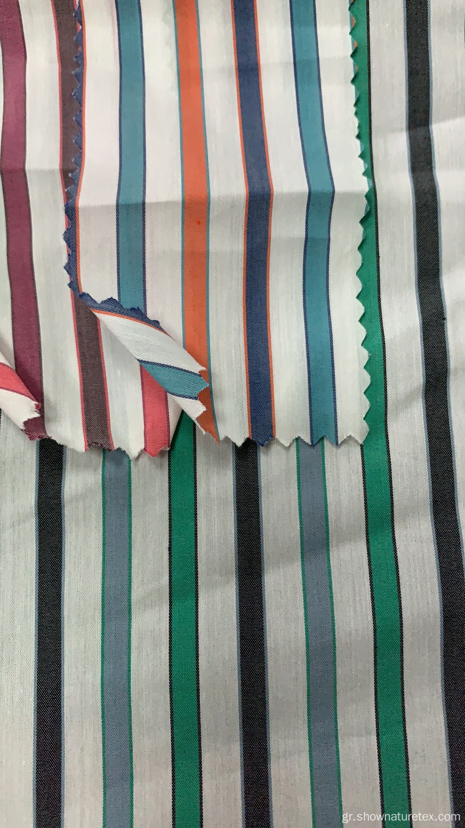 Βαμβάκι NYlon Stripes and Checks Fabric
