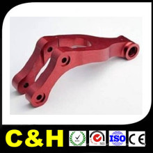 Anodizado de aluminio de encargo / anodizado / anodizado / arenado Precisión CNC que muele / mecanizando piezas